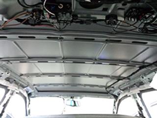 車輛天井部の確認