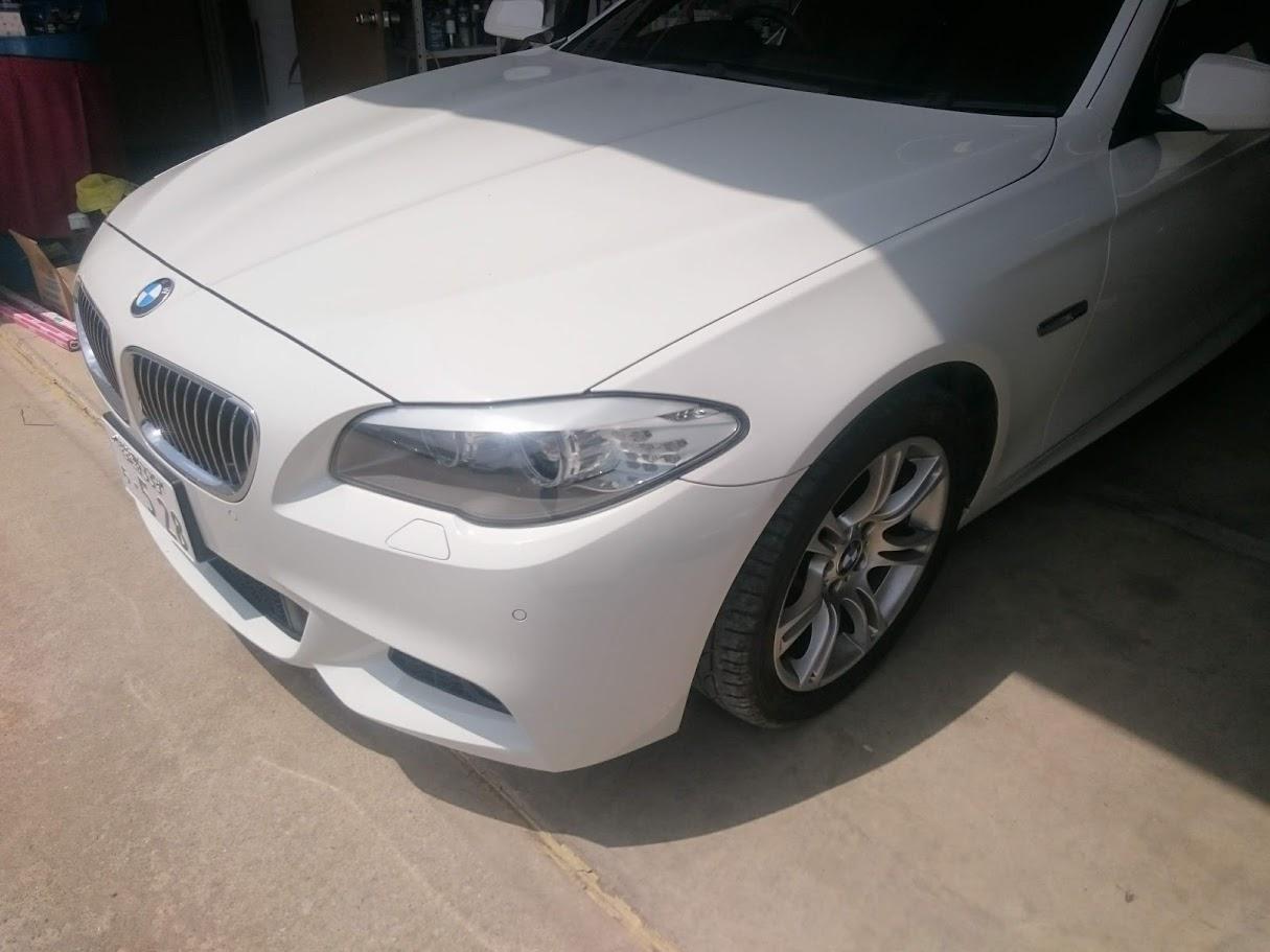 BMW530i AVインターフェィス・地デジチューナー取付