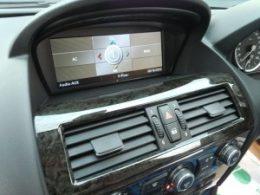 BMW645i AVインターフェィス・地デジ・DVD・バックカメラ取付