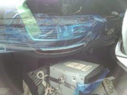 Mercedes Benz S550 W221 AVインターフェイス・地デジチューナー取付